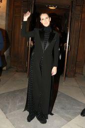 Celine Dion - Leaves Opera Garnier in Paris, France 06/13/2017