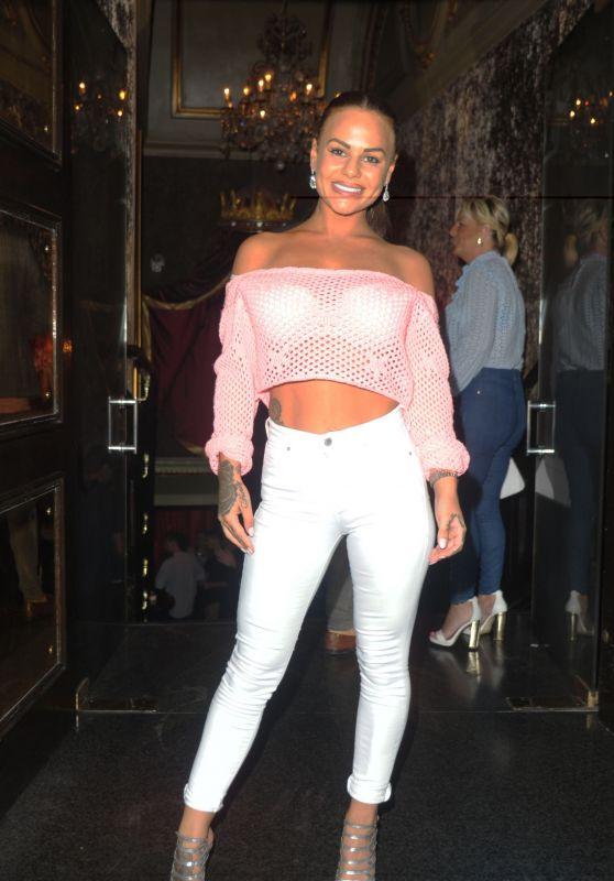 Chantelle Connelly at Cafe De Paris in London, UK 06/17/2017