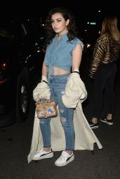 Charli XCX - Leaving the Moschino Spring Summer 2018 Collection Party in Hollywood 06/08/2017