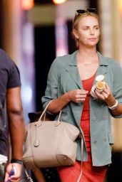 Charlize Theron Casual Style - Out in New York 06/25/2017