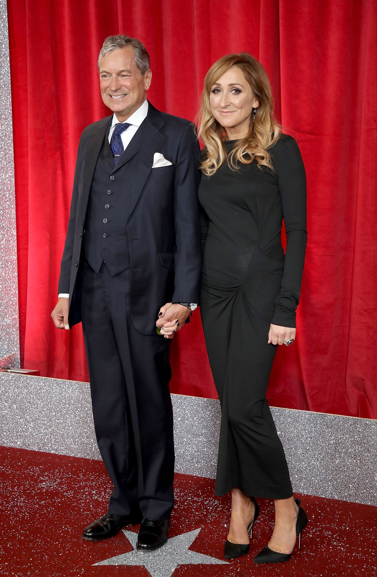 Charlotte bellamy british soap awards in manchester uk