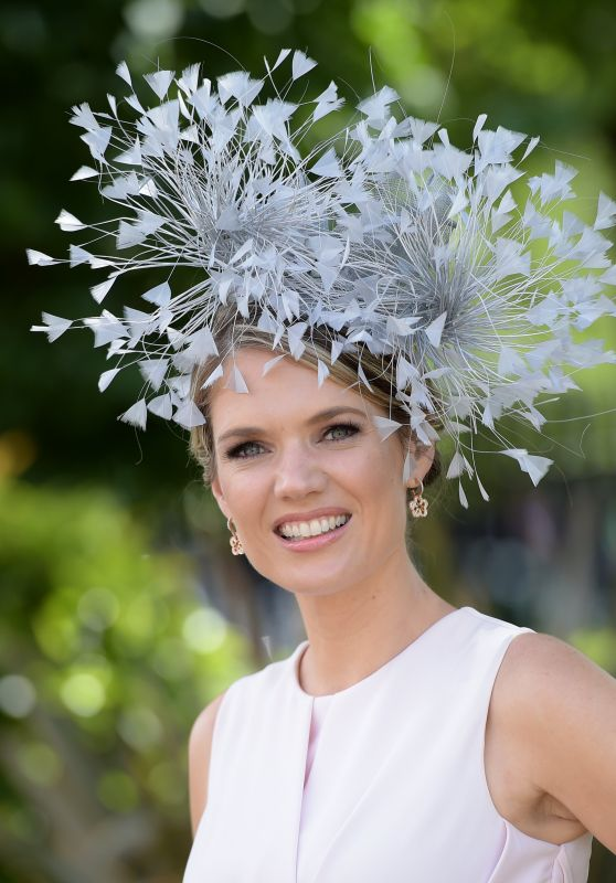 Charlotte Hawkins – Royal Ascot Races in Berkshire, England 06/24/2017