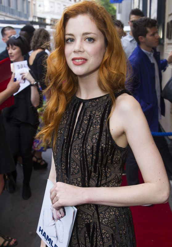 "Charlotte Hope – ""Hamlet"" Play in London, UK 06/15/2017"