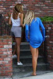 Charlotte McKinney - Outside of Her Home in West Hollywood 06/26/2017