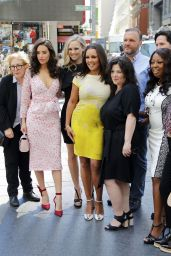 Chloe Bridges, Fiona Gubelmann, Camille Guaty, Vanessa Williams & Star Jones - Nasdaq MarketSite in NYC 06/02/2017