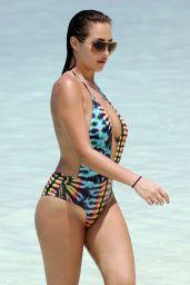 Chloe Goodman in Swimsuit - Beach in Maldives 06/13/2017