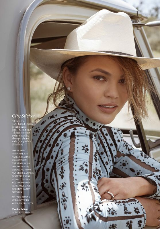 Chrissy Teigen - Marie Claire Magazine USA July 2017 Issue
