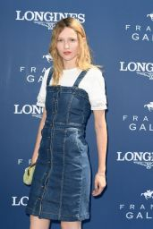 Christa Theret – Grand Prix de Diane in Chantilly, France 06/18/2017