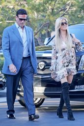 Christina El Moussa With Her Boyfriend - Newport Beach 06/15/2017