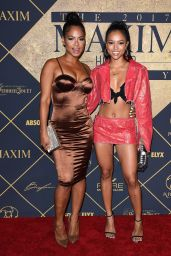 Christina Milian and Karrueche Tran – Maxim Hot 100 Party in Los Angeles 06/24/2017