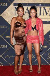 Christina Milian and Karrueche Tran – Maxim Hot 100 Party in Los Angeles 06/24/2017