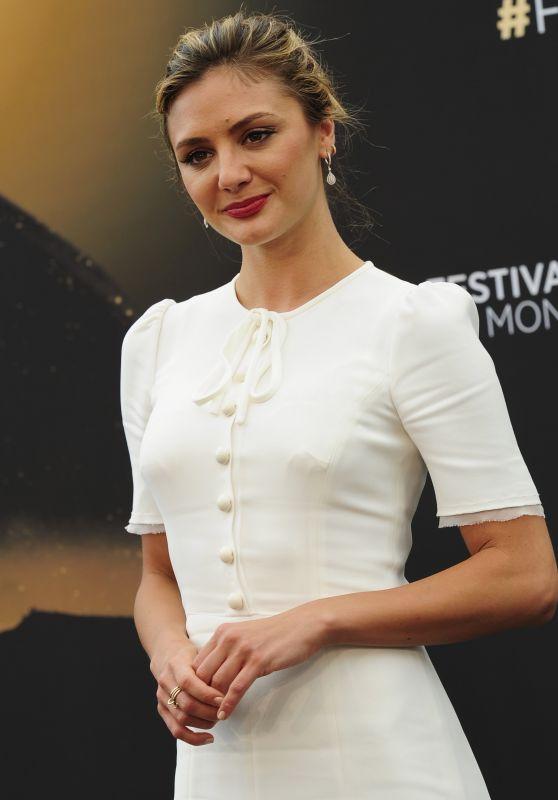 "Christine Evangelista - ""The Arrangement"" Photocall - Monte Carlo TV Festival 06/18/2017"