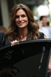 Cindy Crawford - Out in Milan, Italy 06/16/2017