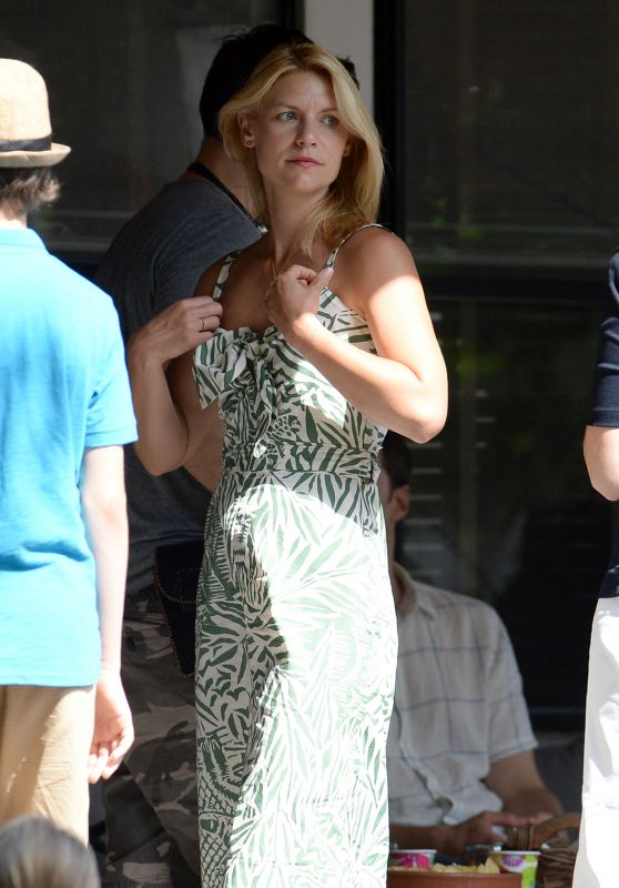 "Claire Danes - Filming Her New Movie ""A Kid Like Jake"" in Brooklin 06/19/2017"