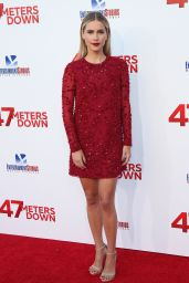 """Claire Holt on Red Carpet - """"47 Meters Down"""" Premiere in Los Angeles, CA 06/12/2017"""