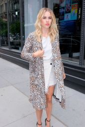 Claire Holt - Outside of AOL Build Series in NYC 06/05/2017