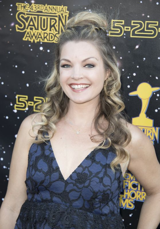 Clare Kramer – Saturn Awards in Los Angeles 06/28/2017