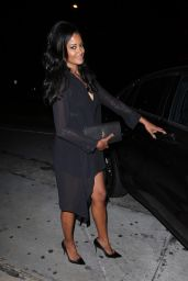 Claudia Jordan and Annie Ilonzeh Night Out Outfit - Catch LA 06/23/2017