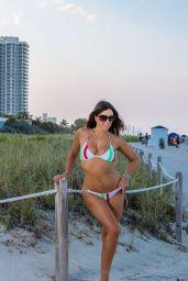 Claudia Romani in Bikini - South Beach, FL 06/27/2017
