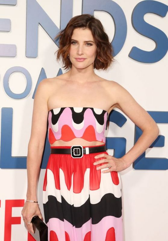 """Cobie Smulders - """"Friends from College"""" TV Show Premiere in NYC 06/26/2017"""