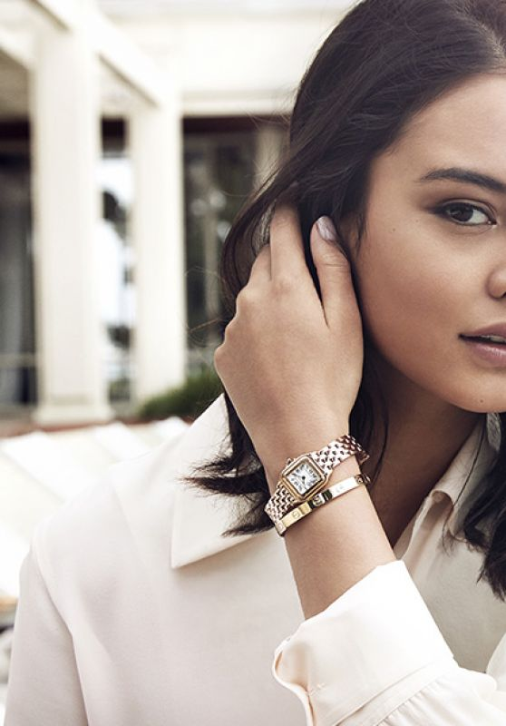 Courtney Eaton - Panthère de Cartier Campaign 2017