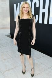 Courtney Love – MOSCHINO Spring Summer 2018 Collection in LA 06/08/2017
