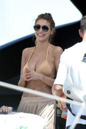 Cristina Buccino in Bikini - Relaxing on a Yacht in Formentera, Spain 06/18/2017