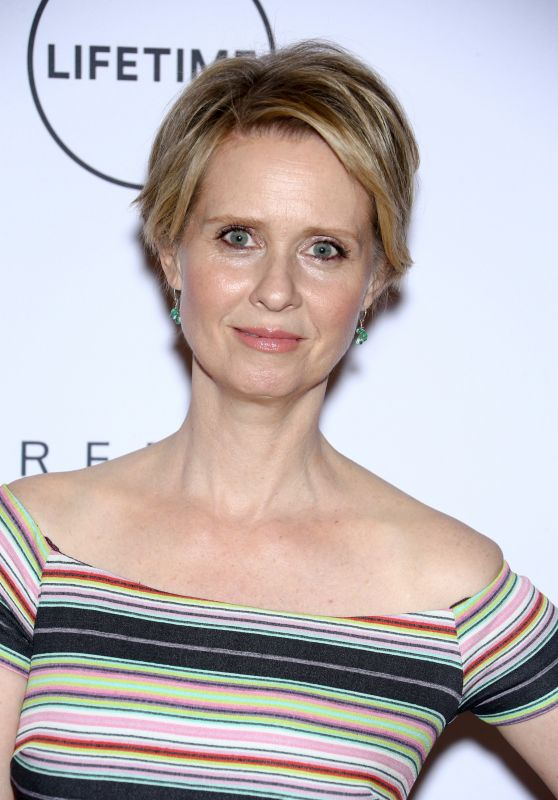 Cynthia Nixon – Power Women Breakfast in New York 06/29/2017