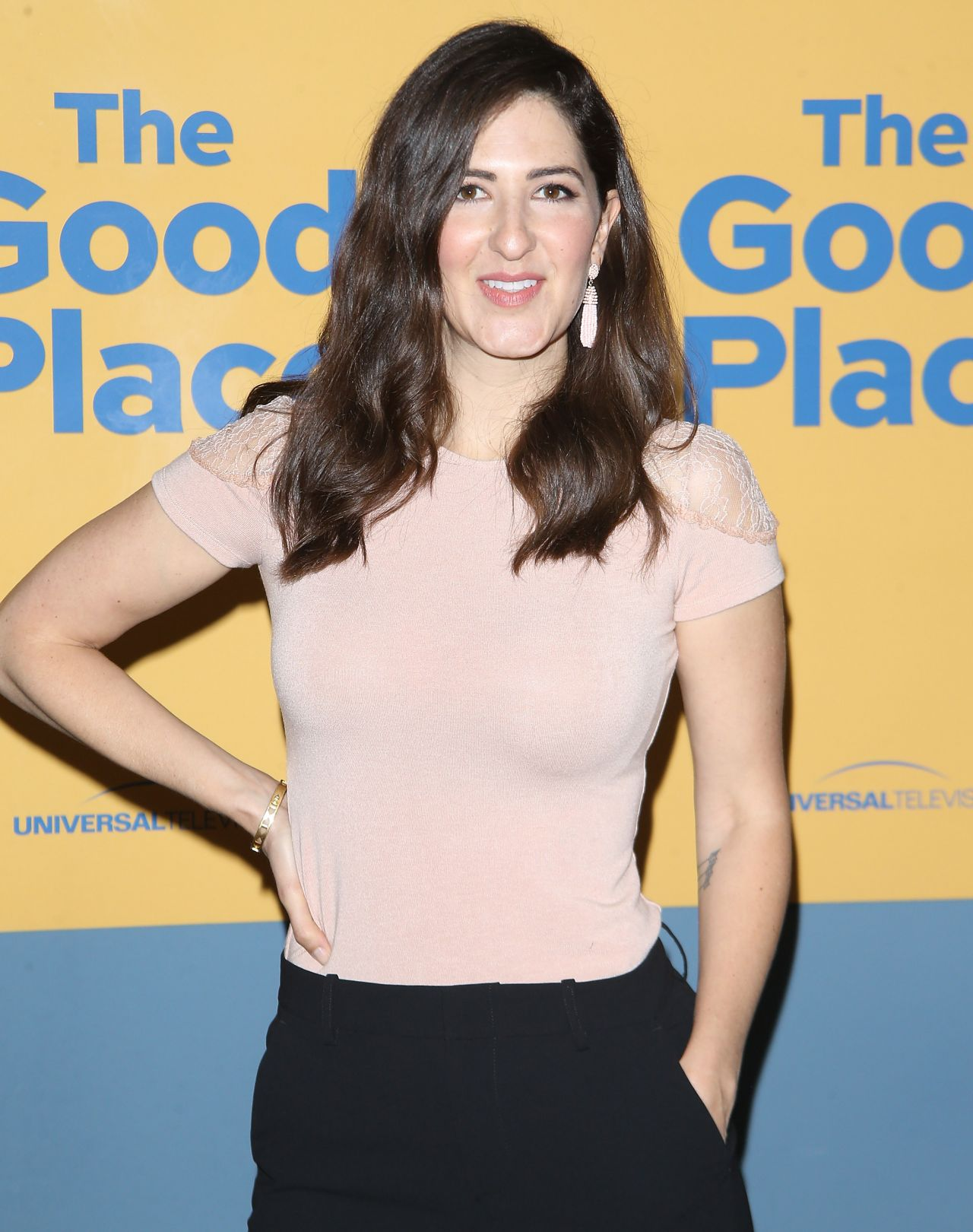 Darcy carden the good place fyc event in los angeles
