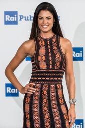 Daniela Ferolla – RAI Italian National Television Network Programs in Milan 06/28/2017