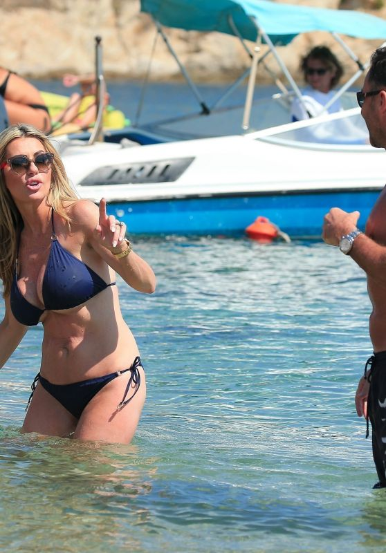Dawn Ward Shows Off Her Toned Bikini Body - Ibiza 06/27/2017