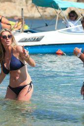 Dawn Ward Shows Off Her Toned Bikini Body - Ibiza 06/27/2017