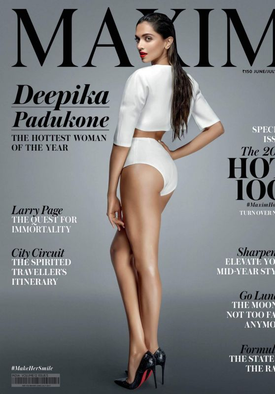 Deepika Padukone - Maxim Magazine India June/July 2017