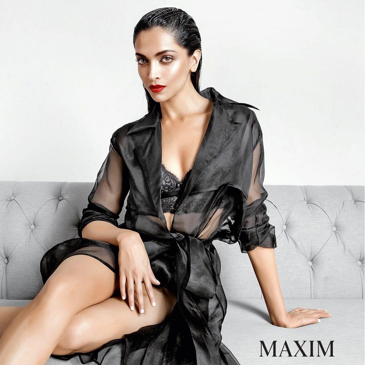 Deepika Padukone Maxim Magazine India June July 2017