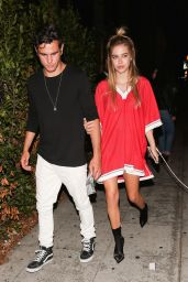 Delilah Hamlin Night Out - Leaving Dinner in West Hollywood 06/08/2017