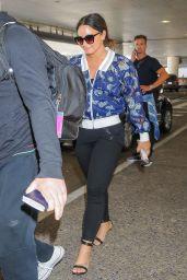 Demi Lovato at LAX Airport in LA 06/21/2017