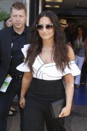 Demi Lovato - Leaving the Cannes Lions Festival 06/19/2017