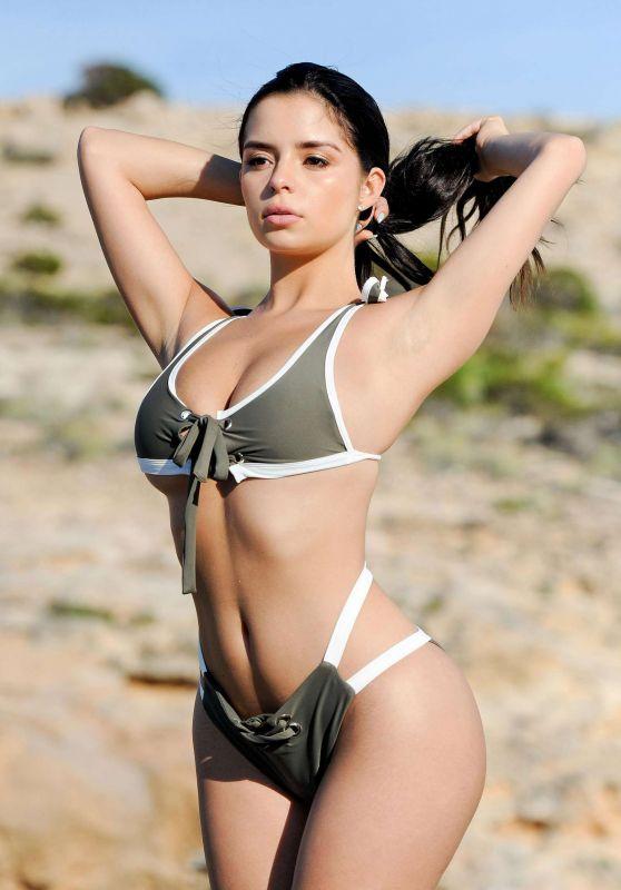 Demi Rose Bikini Photoshoot, June 2017