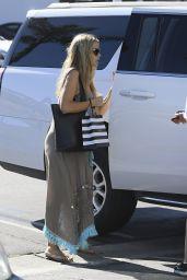 Denise Richards Cute Street Style - Los Angeles 06/21/2017