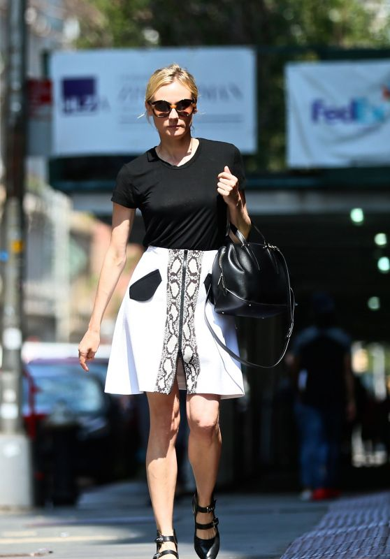Diane Kruger - Heading to the Tailor in NYC 06/15/2017