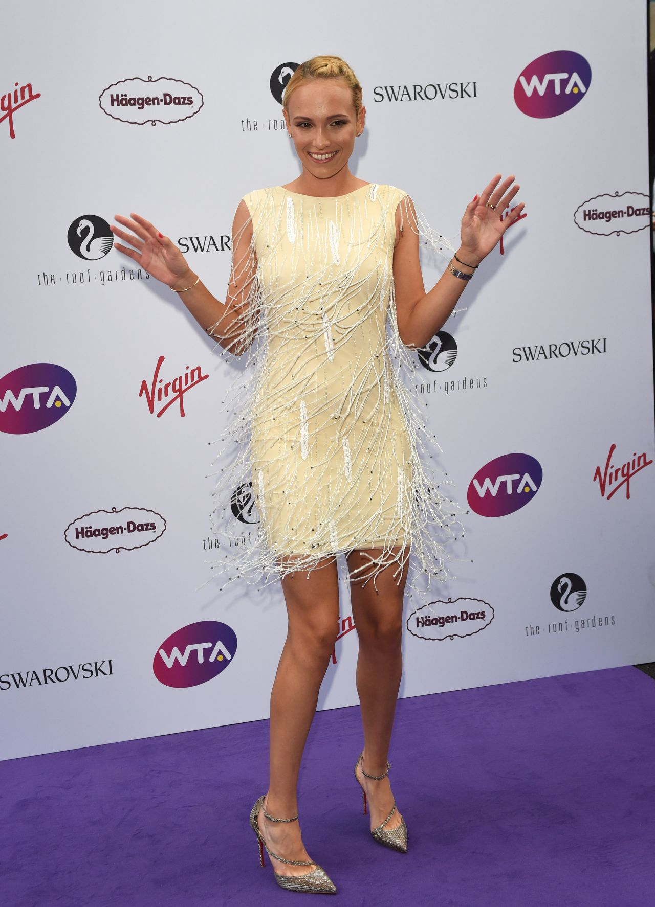 Donna Vekic Wta Pre Wimbledon Party In London 06 29 2017