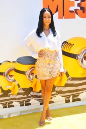 "Draya Michele – ""Despicable Me 3"" Premiere in Los Angeles 06/24/2017"
