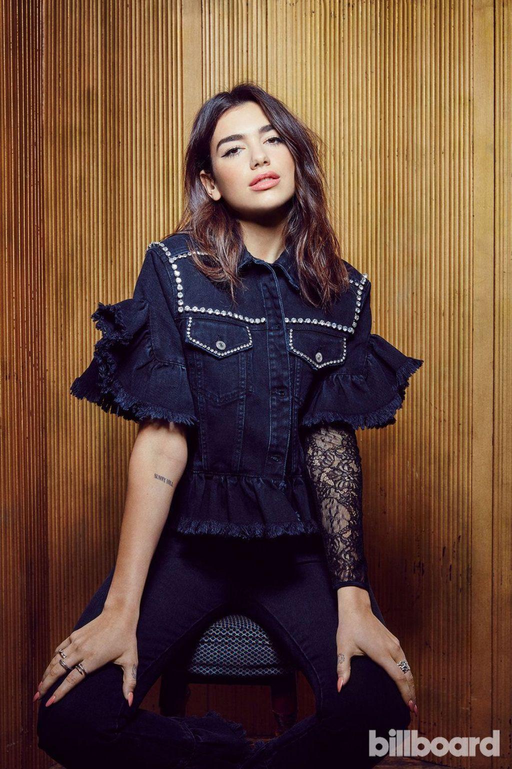Dua Lipa Photographed For Billboard Magazine 2017