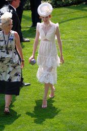 Eleanor Tomlinson at Royal Ascot in London 06/21/2017