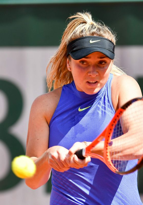 Elina Svitolina – French Open Tennis Tournament in Roland Garros, Paris 06/04/2017