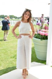 Ella Purnell - Cartier Queen's Cup Polo Final in Surrey, UK 06/18/2017