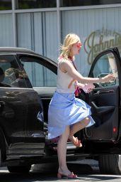 Elle Fanning - Grabs Lunch at El Pollo Loco in LA 06/27/2017