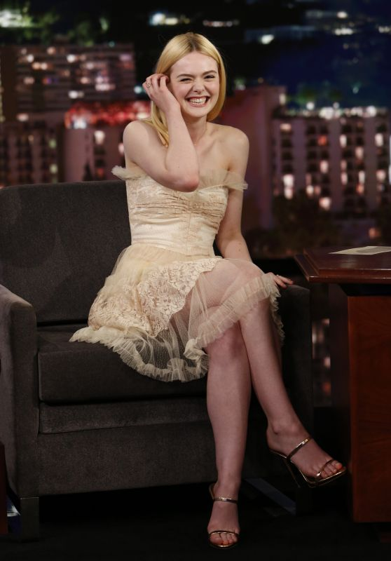 Elle Fanning - Jimmy Kimmel Live in Hollywood 06/19/2017