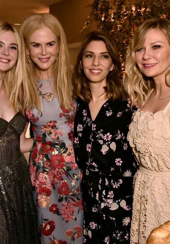 "Elle Fanning, Nicole Kidman, Sofia Coppola, Kirsten Dunst - ""The Beguiled"" Movie Premiere After Party in LA 06/12/2017"