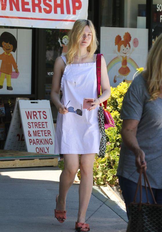Elle Fanning - Out in LA 06/28/2017